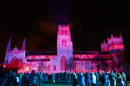 Durham Lumiere Festival incuding Carvery Lunch